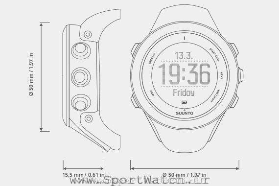 suunto ambit3 sport black blue white ld
