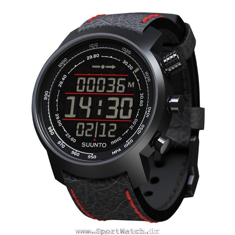 ساعت سونتو Elementum Terra Black Red Leather