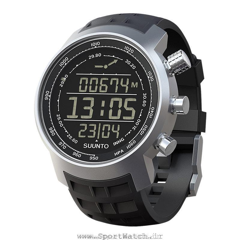 ساعت سونتو Elementum Terra Black Rubber dark display