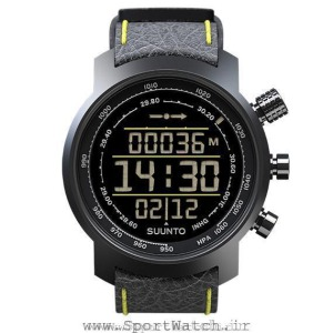 ساعت سونتو Suunto Elementum Terra Black Yellow Leather