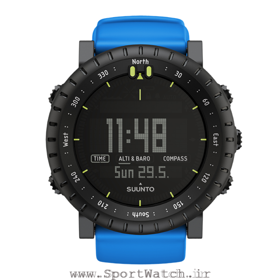ساعت ورزشی Suunto Core Blue Crush
