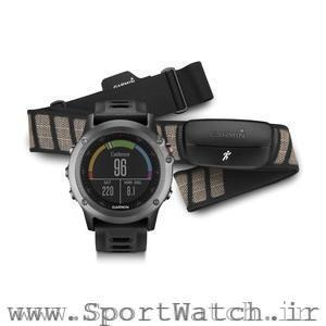 ساعت ورزشی Fenix 3 Gray Performer Bundle