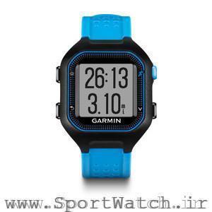 Forerunner 25 Black Blue Watch Only