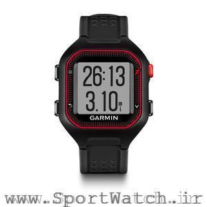 Forerunner 25 Black Red Watch Only