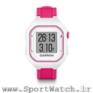 Forerunner 25 White Pink Watch Only