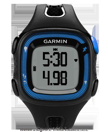 ساعت ورزش دو forerunner 15 black blue