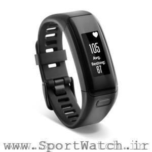 ساعت اسپرت گارمین Vivosmart HR Black X Large