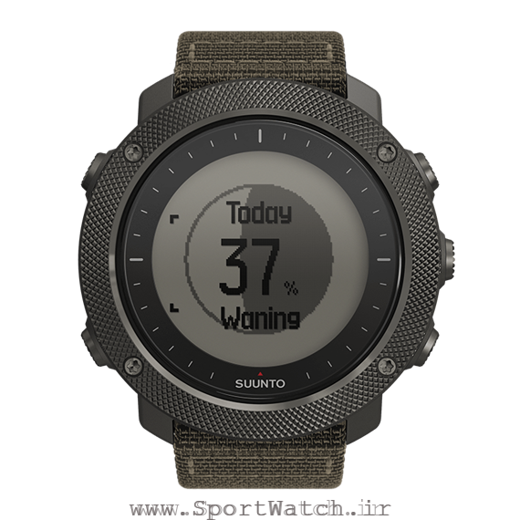 SS022292000 Suunto Traverse Alpha Foliage - Moon phase