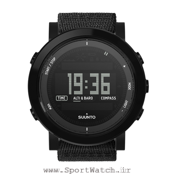 SS022438000 Suunto Essential Ceramic All Black Textile