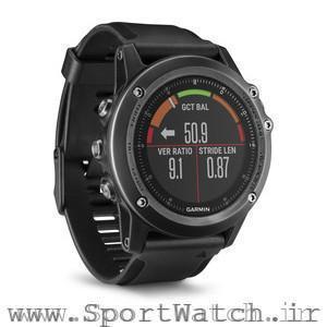 دویدن دینامیکی با ساعت گارمین Fenix3 HR