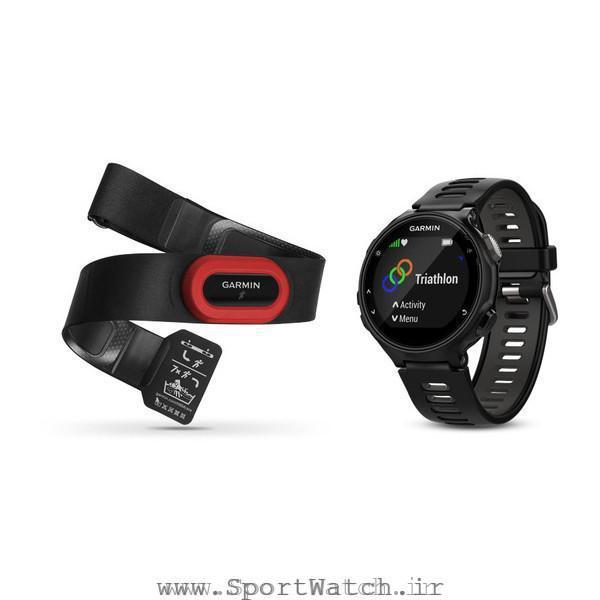 ساعت گارمین Forerunner 735XT Black Gray Run Bundle