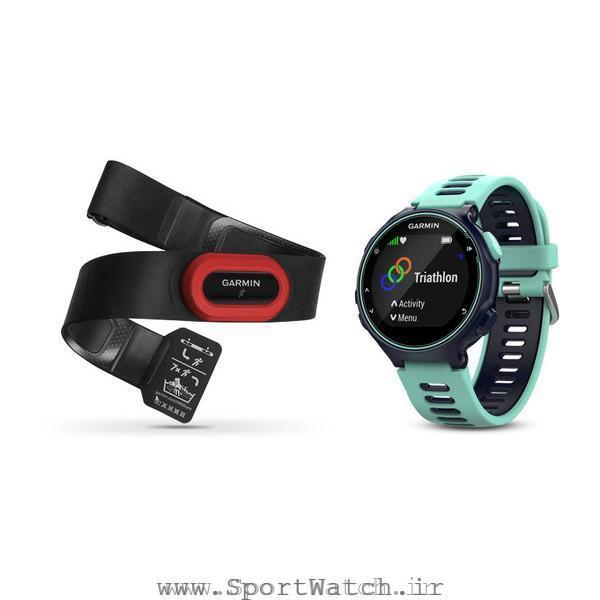 ساعت گارمین Forerunner 735XT Blue Frost Blue Run Bundle