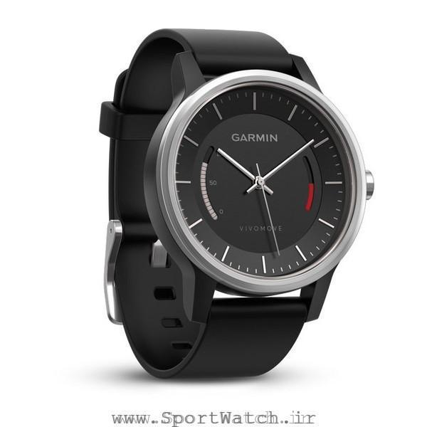 ساعت گارمین Vivomove Sport Black Sport Band