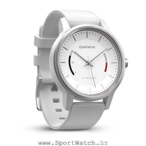 ساعت گارمین Vivomove Sport White Sport Band