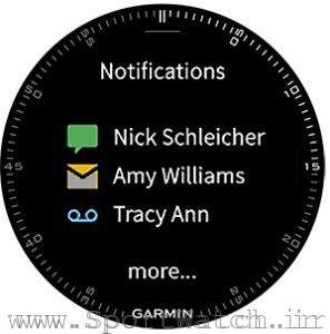 ارتباط ساعت هوشمند گارمین فنیکس 3 با تلفن هوشمند