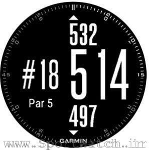 ساعت گارمین فنیکس 3 و ورزش گلف