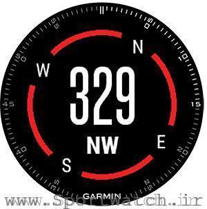 قطب نمای ساعت گارمین تاکتیکس براوو