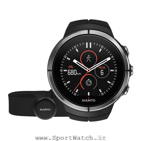 SS022658000 Suunto Spartan Ultra Black HR