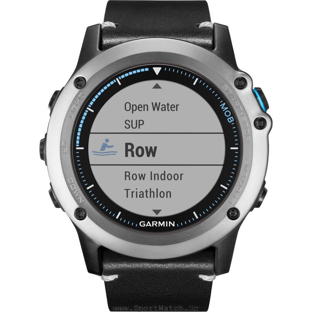 ساعت ورزش های آبی و دریایی گارمین کواتیکس 3