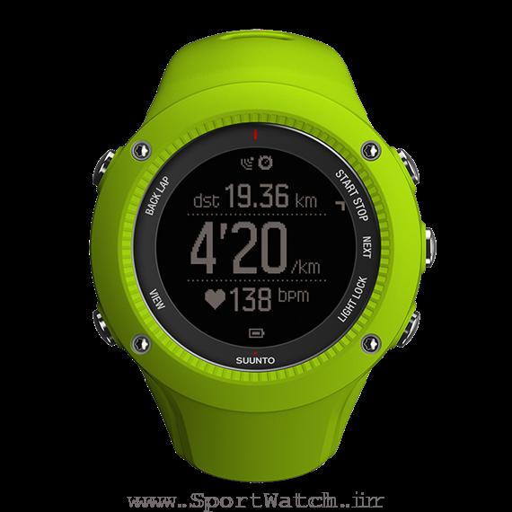 ساعت سونتو Smbit3 Run Lime