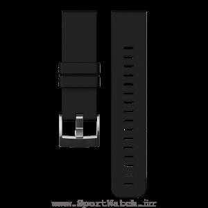 Traverse Black Silicone Strap ss021846000