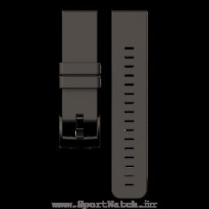 Traverse Graphite Silicone Strap ss022227000