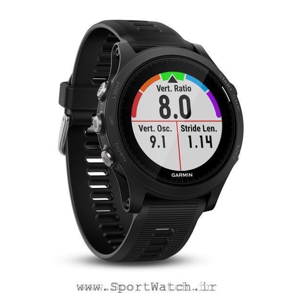 ساعت هوشمند گارمین فوررانر 935 مشکی