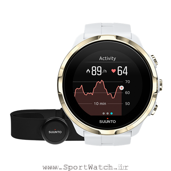 ss023403000 suunto spartan sport wrist hr gold with hr belt