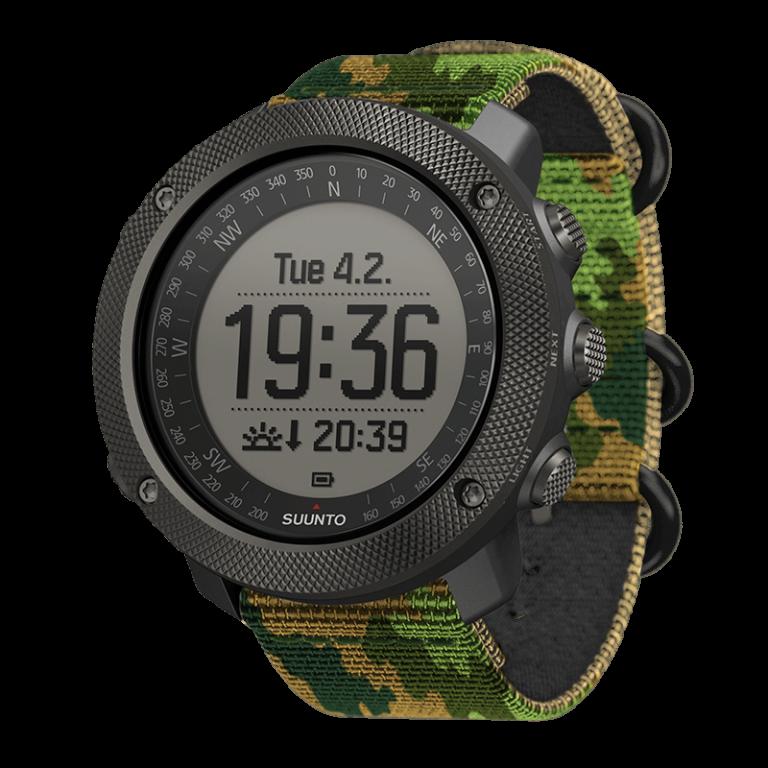 ساعت هوشمند سونتو تراورز آلفا برای کوهنوردی، شکار و ماهیگیری دارای شیشه سافایر دارای جی پی اس و گلوناس