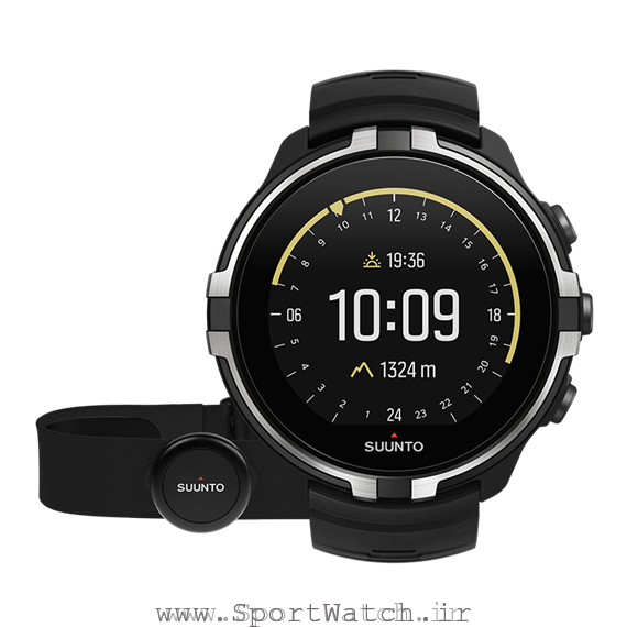 ss023404000 suunto spartan sport wirst hr baro stealth with hr belt