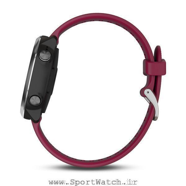Forerunner 645 Music With Cerise Colored Band