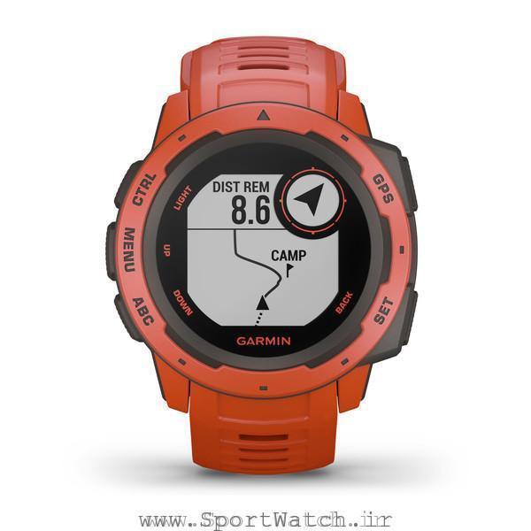 ساعت هوشمند گارمین اینستینکت قرمز