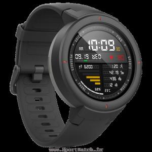ساعت هوشمند آمازفیت ورج به رنگ خاکستری متمایل به مشکی (سایه خاکستری)