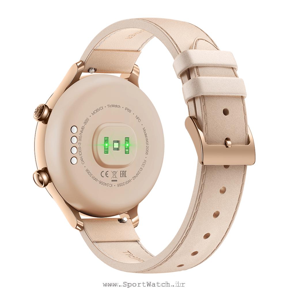 ساعت هوشمند تیک واچ سی 2 رزگلد