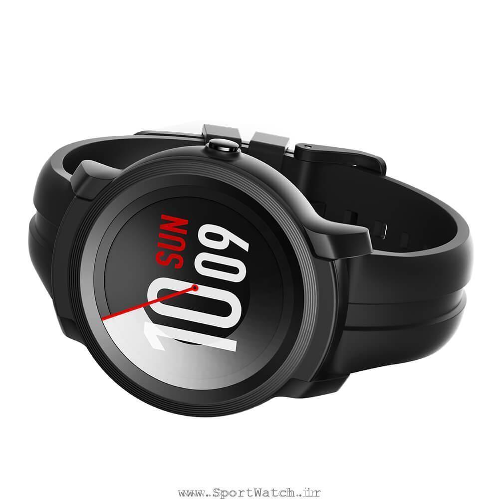 ساعت هوشمند تیک واچ ای 2 مشکی