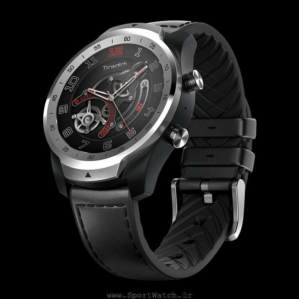 ساعت هوشمند تیک واچ پرو نقره ای