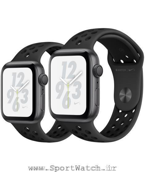 Apple Watch Nike Space Gray Aluminum Case with Anthracite Black Nike Sport Band