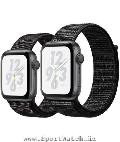 Apple Watch Nike Space Gray Aluminum Case with Black Nike Sport Loop