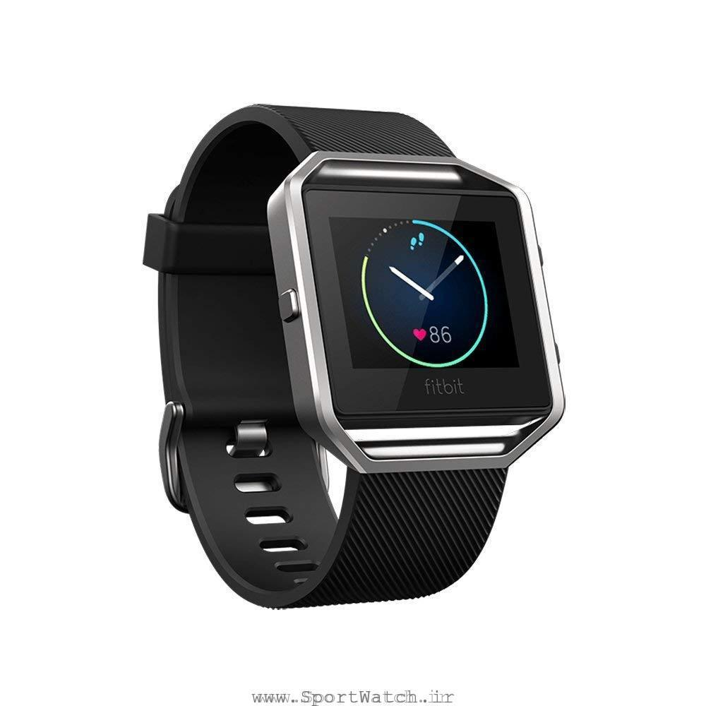 ساعت هوشمند فیت بیت Fitbit Blaze Smart Fitness Watch Black Silver