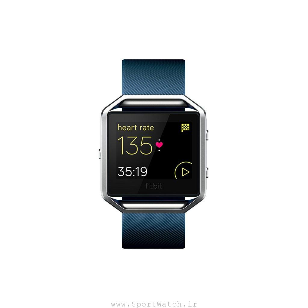 ساعت هوشمند فیت بیت Fitbit Blaze Smart Fitness Watch Blue Silver