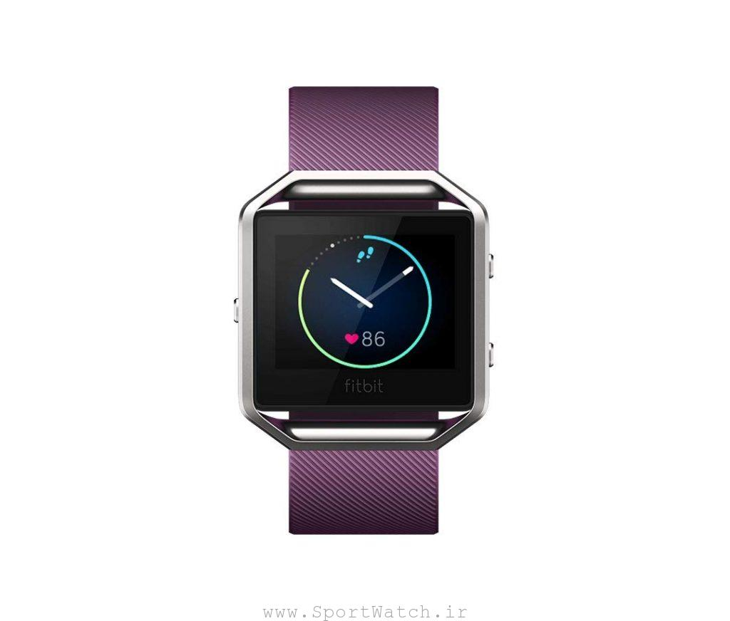 ساعت هوشمند فیت بیت Fitbit Blaze Smart Fitness Watch Plum Silver