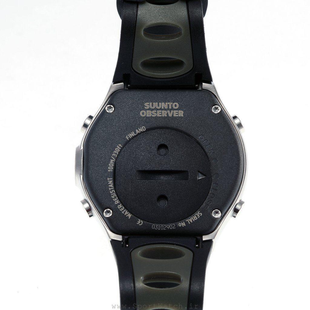 نمای پشتی ساعت Suunto Observer Sr SS010660330