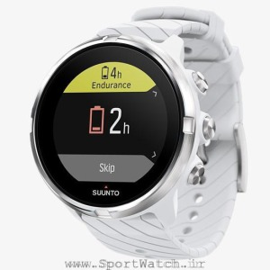 ss050143000 suunto 9 white _ not battery low during exercise
