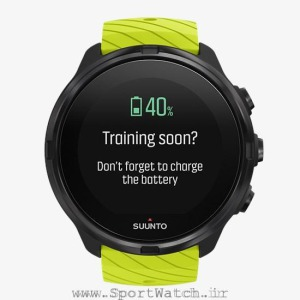 ss050144000 suunto 9 lime front _ battery reminder charge