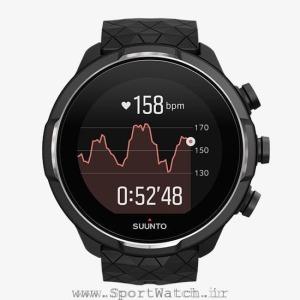 ss050145000 suunto 9 baro titanium _ running basic hr graph