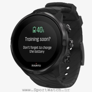 ss050257000 suunto 9 all black _ battery reminder charge