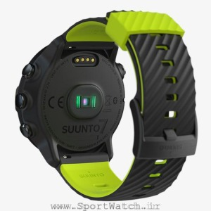 ss050379000 suunto-7 black lime back perspective
