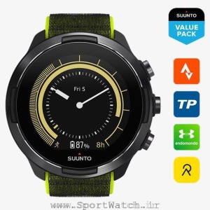 ss050449000 suunto 9 baro lime _ watch face yellow value pack