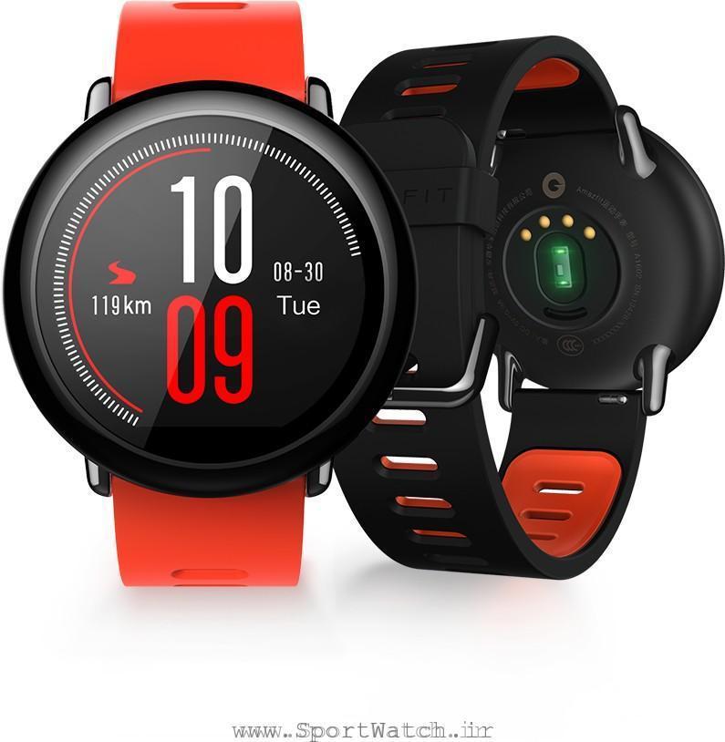 ضربان سنج قلب مچی ساعت هوشمند Amazfit Pace