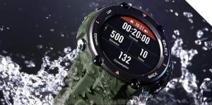 ساعت هوشمند Amazfit T-rex مقاوم در برابر نفوذ آب